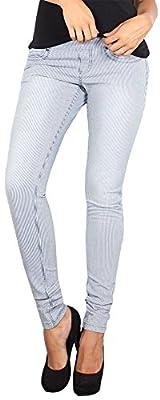 LOLA Women's Anna Pull On Stretch Denim Skinny Jean