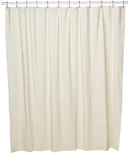 Croscill Vinyl Shower Curtain Liner, 70-inch by 72-inch, Linen