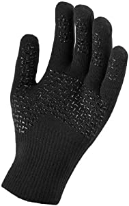 SealSkinz Ultra Grip Gloves-Black-XS