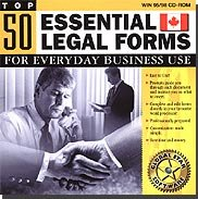Top 50 Essential Canadian Legal Forms