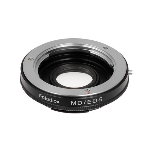 Fotodiox Lens Mount Adapter - Minolta MD, MC Rokkor Lens to Canon EOS Camera Adapter, for Canon EOS 1d,1ds,Mark II, III, IV 5D, 5D Mark II, 7D, 10D, 20D, 30D, 40D, 50D, 60D, Rebel xt, xti, xs, xsi, t1i, t2i, 300D, 350D, 400D, 450D, 500D, 550D, 1000D