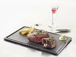 Revol Basalt Collection, 13-Inch Slate Steak Plate