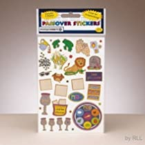 Rite Lite Passover Prismatic Stickers - Pack of 2 Sheets