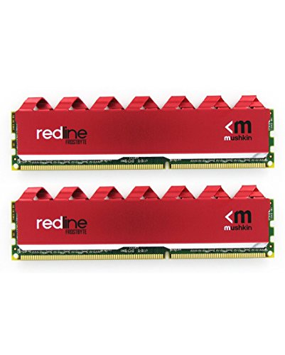 Mushkin 16GB (2X8GB) Redline DDR4 UDIMM PC4-2666 Desktop Memory Model MRA4U266GHHF8GX2