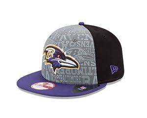 NFL Baltimore Ravens 2014 9Fifty Draft Cap, Medium/Large