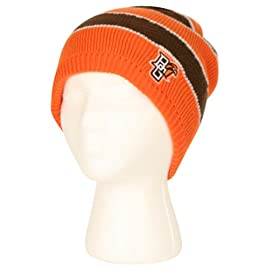 NCAA Womens Fashion Stripe Winter Knit Beanie by Adidas
