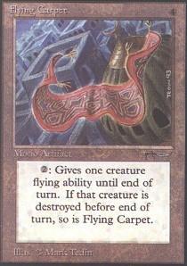 Magic: The Gathering - Flying Carpet - Arabian Nights front-545683