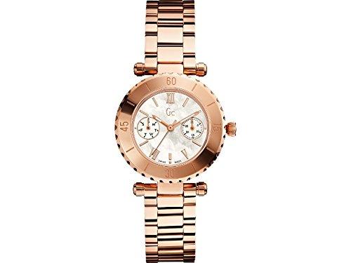 Guess X35011L1S - Orologio da polso, donna, acciaio inox, colore: marrone
