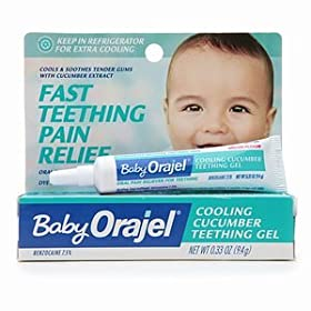 Baby Oragel Cooling Cucumber Teething Gel