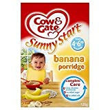 Cow & Gate Sunny Start 4-6 Mths+ Banana Porridge 125G