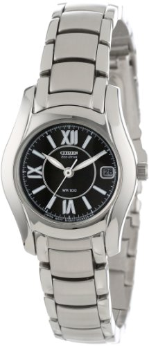 Citizen Women's EW0620-52E Eco-Drive Stainless Steel Watch
