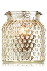 Bath & Bodyworks 2013 Mini Candle Luminary / Bubble Glass Hurricane Candleholder