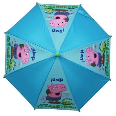 Trade Mark Collections Peppa Pig George Jump Umbrella
