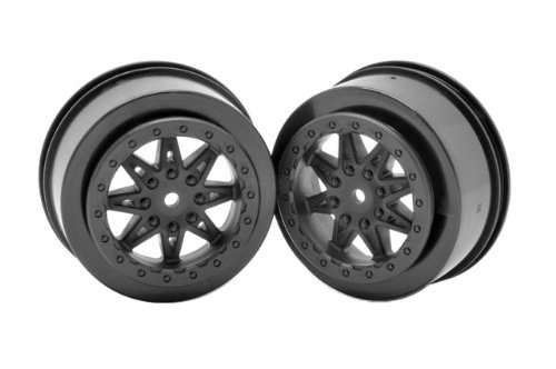 Axial AX08101 2.2/3.0 Raceline Renegade Wheels (2-Piece), 41mm, Black