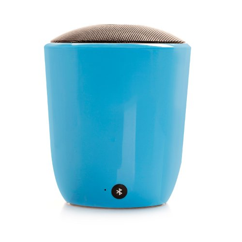 Hayabusa Tm High Quality Gift Box Bluetooth Stereo Hands-Free Calls High-End New Gift Glass Speakers (Blue)