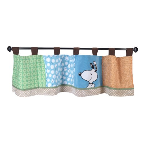 Lambs & Ivy Bff Window Valance, Snoopy front-973181