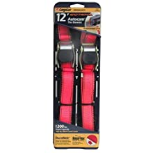 Allied International 84031 CargoLoc 12-Foot Extreme AutoCam Tie Downs, 2-Pack