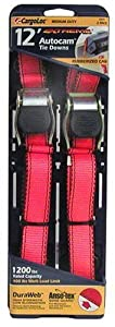 CargoLoc 84031 12-Foot Extreme AutoCam Tie Downs, 2-Pack