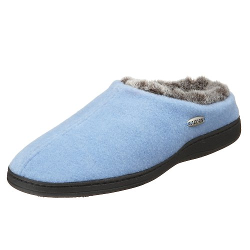 Cheap ACORN Women's Chinchilla Mule Slipper (B000BN7I1A)