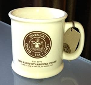 New Collector Mug From The Starbucks First Store In