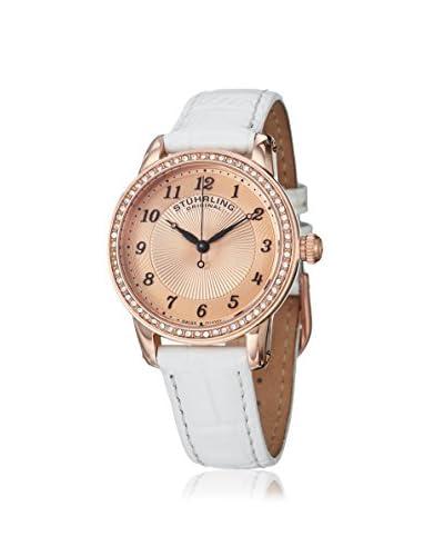Stuhrling Women's 651 Symphony White/Rose Watch