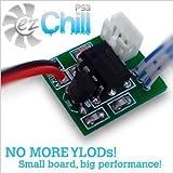 EZ Chill PS3 Cooling Fan Controller Mod Kit - BETTER THAN INTERCOOLER - Prevent Repair YLOD RLOD Overheating Playstation 3 - FAT - SLIM - SUPER SLIM