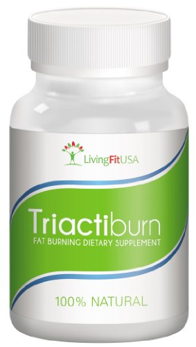 Triactiburn Fat Burner Thermogenic Metabolism And Energy Booster Diet Pills, 100% All Natural Weight Loss Supplement Made In Usa
