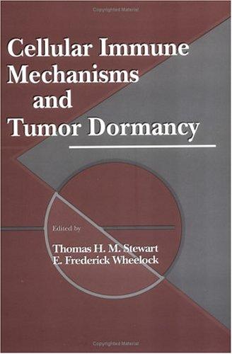 Cellular Immune Mechanisms and Tumor Dormancy