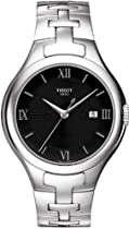 Tissot T-Trend T12 Black Dial Stainless Steel Ladies Watch T0822101105800