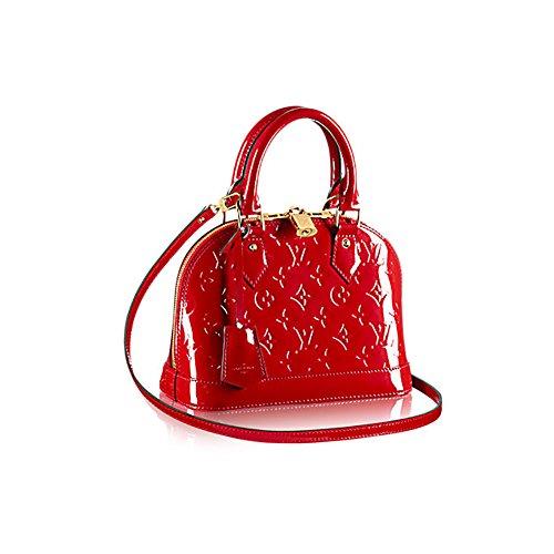 Louis Vuitton Monogram Vernis Leather ALMA BB Cross-Body Carry Handbag Article: M90174 Cherry (Louis Vuitton Clothes compare prices)