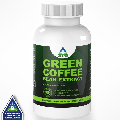 Pure Green Coffee Bean Extract 800 Mg | Most
