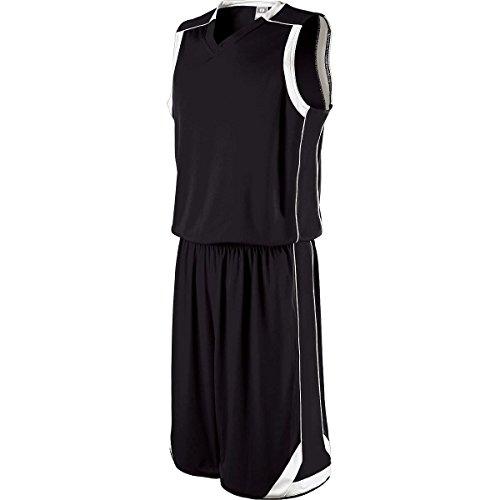 Holloway Sportswear BOYS' CARTHAGE SHORT Boys L Black/White