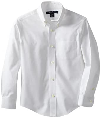 Brooks brothers big boys 39 non iron button down for Brooks brothers non iron shirt review