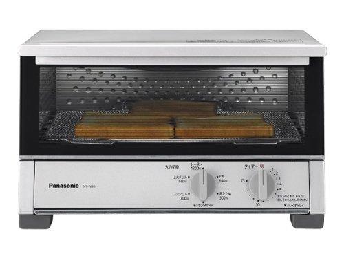 Panasonic オーブントースター シルバー NT-W50-S