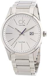 Calvin Klein Men's Watch Bold Steel Big Date K2246120
