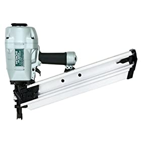 Hitachi NR90AC3 Round Head 2-3/8-Inch to 3-1/2-Inch Framing Nailer