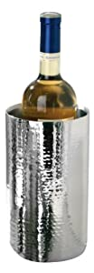 Premier Housewares Stainless Steel Hammered Effect Champagne/ Wine Cooler by Premier Housewares