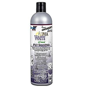 Groomer's Edge Alpha White Pet Shampoo, 16 oz