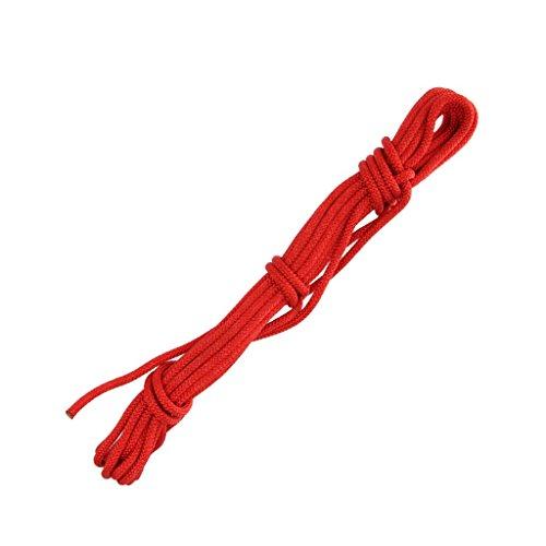 10m-6mm-Noyau-Extrieur-Escalade-Corde-Sauvetage-Rappel-Corde-de-Scurit-Rouge