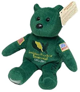 2003 Louisiana Purchase Bicentennial Plush Bear no coin INCLUDED