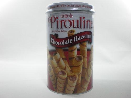 Creme De Pirouline Chocolate Hazelnut Artisan Rolled Wafers 12 Oz