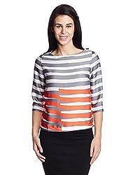 Lee Women's Tunic Shirt (LESH9145_Grey_Large)