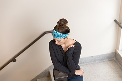 RiptGear Yoga Headbands Tribal Blue