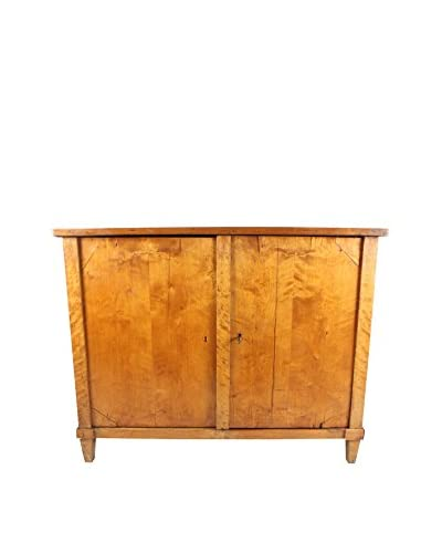 1870s Empire Style Birch Cabinet, Brown