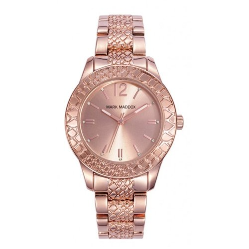 Orologi Mark Maddox Golden Chic Mm0012-97 Donna Rose Gold