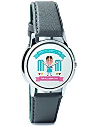 BigOwl Mom For All Your Love Analog Men's Wrist Watch 2239214526-RS1-W-GRY