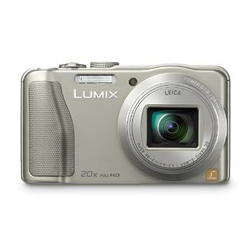 Panasonic Lumix DMC-ZS25 16.1MP Compact Digital Camera with 40x Zoom (DMC-ZS25S, Silver)