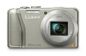 Panasonic Lumix DMC-ZS25 16.1 MP Compact Digital Camera with 20x Intelligent Zoom (Silver) (OLD MODEL)