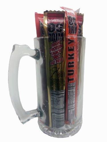 Meat Mug 12 Pack Meat Stick & Mug Gift Pack
