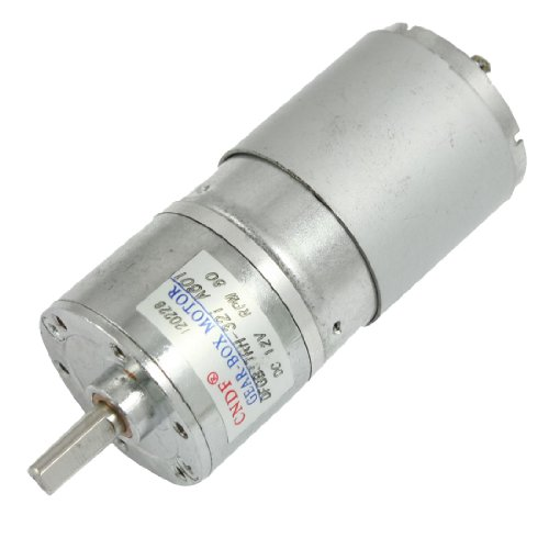 Dc 12v 80 rpm 6mm dia shaft magnetic gearbox electric for Electric motor shaft repair